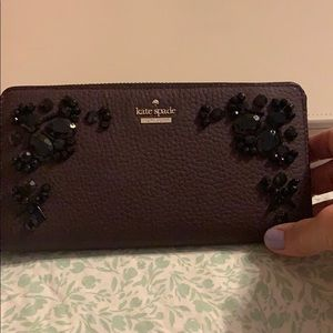 Rare Kate Spade wallet with stones!